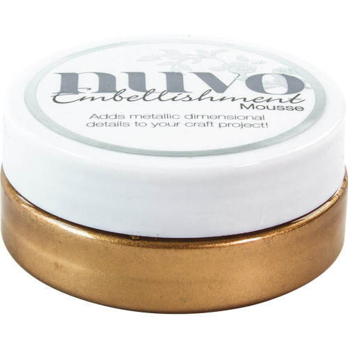 Tonic Studios Nuvo Embellishment Mousse: Cosmic Brown