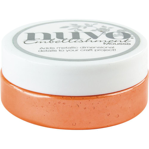 Tonic Studios Nuvo Embellishment Mousse: Orange Blush