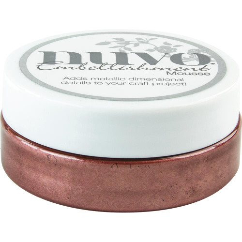 Tonic Studios Nuvo Embellishment Mousse: Burnished Bronze