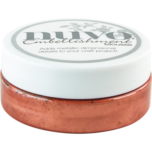 Tonic Studios Nuvo Embellishment Mousse: Persian Red