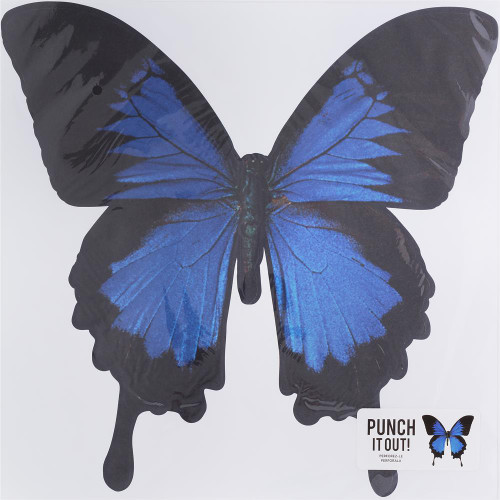 American Crafts 12x12 Punch It Out! Diecut Paper: Butterfly