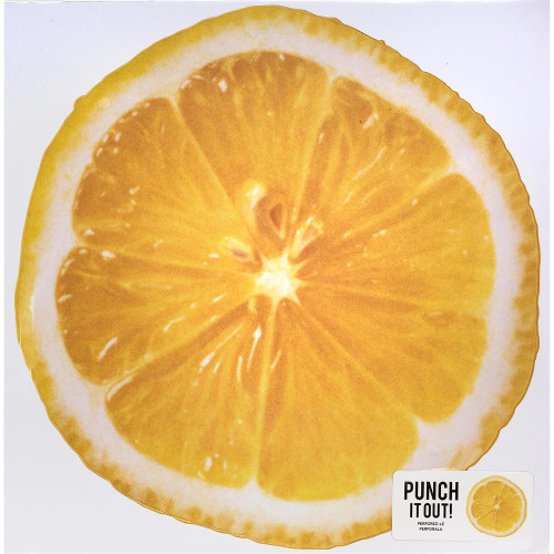 American Crafts 12x12 Punch It Out! Diecut Paper: Lemon Slice