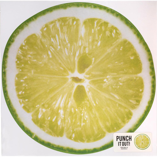 American Crafts 12x12 Punch It Out! Diecut Paper: Lime Slice