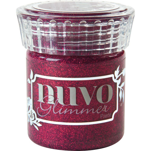 Tonic Studios Nuvo Glimmer Paste: Raspberry Rhodolite
