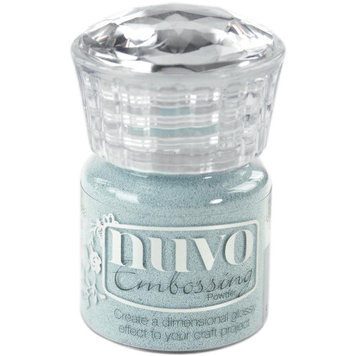 Tonic Studios Nuvo Embossing Powder: Serenity Blue