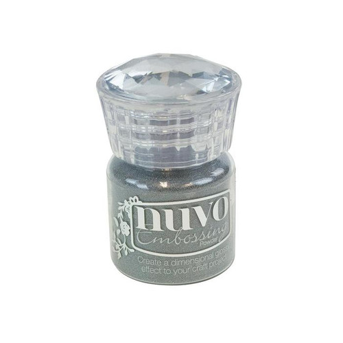 Tonic Studios Nuvo Embossing Powder: Classic Silver
