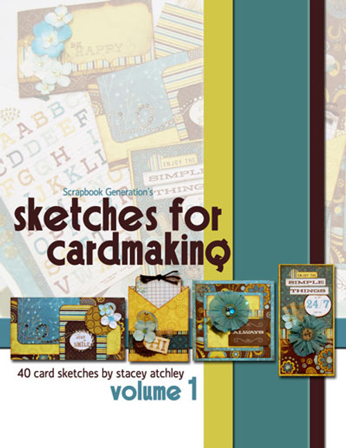 E-BOOK: Sketches for Cardmaking - Volume 1 (non-refundable digital download)