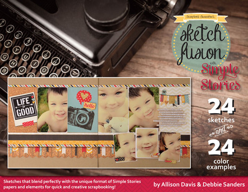 E-BOOK: Sketch Fusion with Simple Stories (non-refundable digital download)