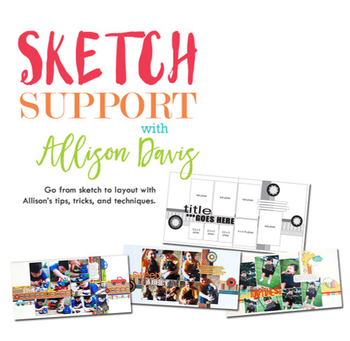CLASS: Sketch Support with Allison Davis