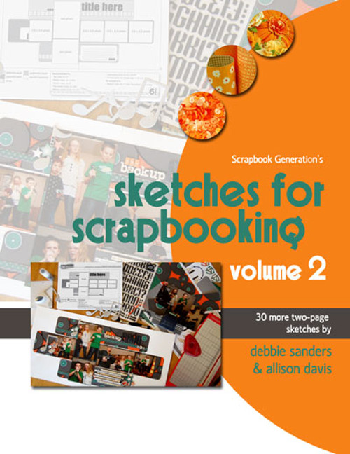 E-BOOK: Sketches For Scrapbooking - Volume 2 (non-refundable digital download)