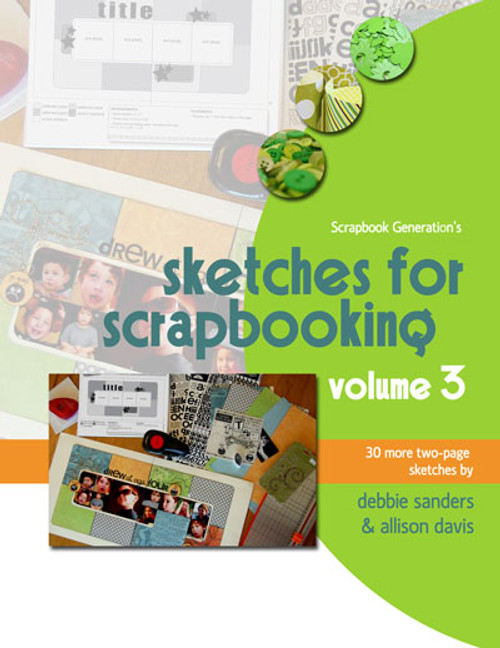 E-BOOK: Sketches For Scrapbooking - Volume 3 (non-refundable digital download)