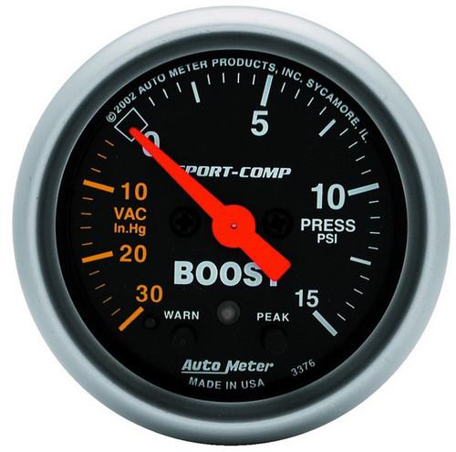 Auto Meter Gauges - Sport-Comp - Digital Stepper Motor