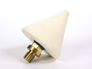 Felt Cone with Brass Adapter
