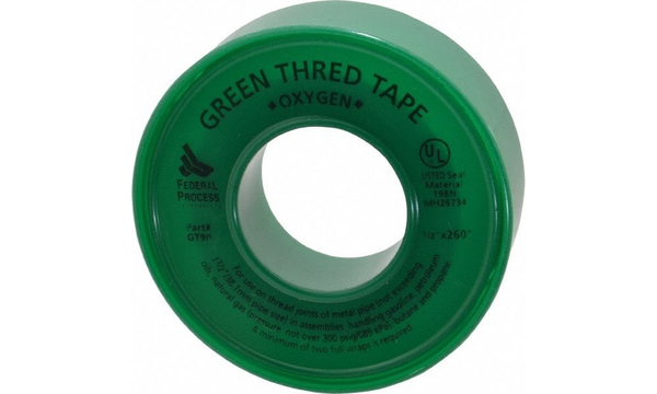 Green Oxygen Thread Tape
