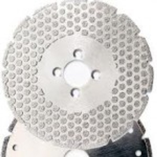 Electroplated Blade with Dots