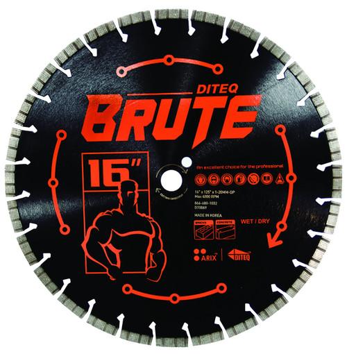 DITEQ BRUTE Masonry & Concrete Saw Blades