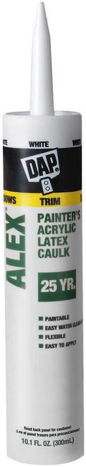 DAP Alex Painters Acrylic Latex Caulk - White