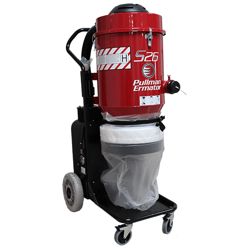 Ermator S 26 HEPA Dust Extractor - 120 Volt, Single Phase
