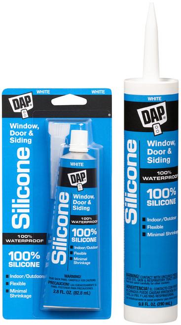 DAP 100 % Silicone Rubber Sealant