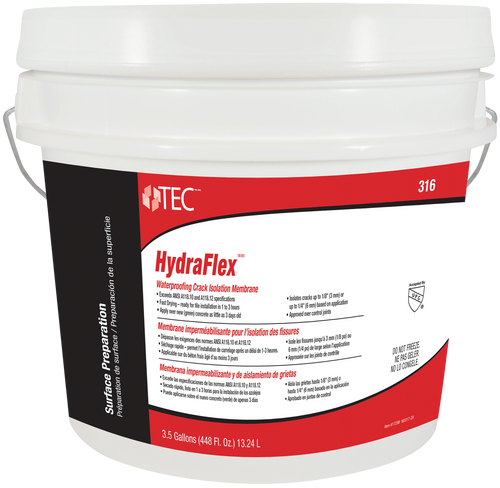 HydraFlex™ Waterproofing Crack Isolation Membrane