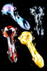 (US Made) Set of 4 Psychedelic Spoon Pipes - P1695