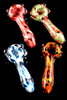 (US Made) Set of 4 Camo # 2 Spoon Pipes - P1697