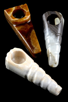 Large Onyx Pipe - W0110