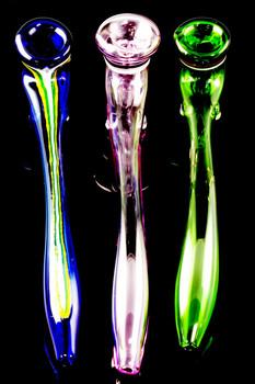 (US Made) Long Sherlock Glass Pipe - P776