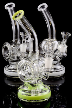 Small Stemless GoG Water Pipe with Swiss Barrel Perc - WP1210