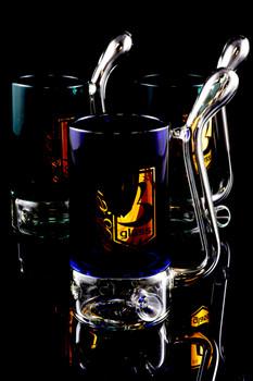 Glass Mug Pipe - P1386