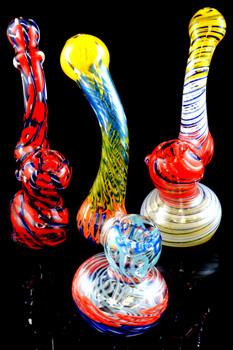 (Mix) Medium Multicolor Sherlock Bubbler - B924