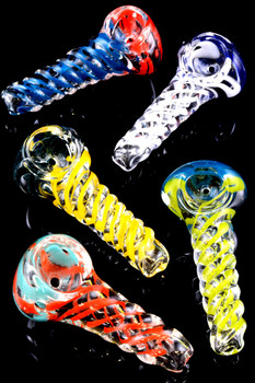 Mini Twisted Glass Pipe - P1438