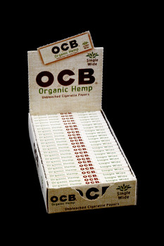 OCB Organic Hemp Single Wide Rolling Papers - RP203