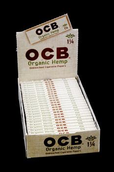 "OCB Organic Hemp 1 1/4"" Rolling Papers - RP204"
