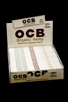 OCB Organic Hemp King Size Slim Rolling Papers - RP205