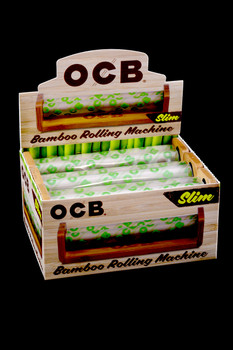 OCB King Size Slim Bamboo Rolling Machines (6 count) - RP212