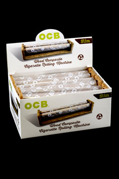 OCB King Size Slim Wood Composite Rolling Machines (6 count) - RP216