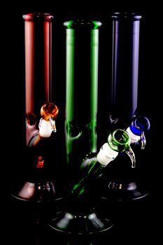(US Made) Large GoG Colored Straight Shooter Water Pipe - WP1338