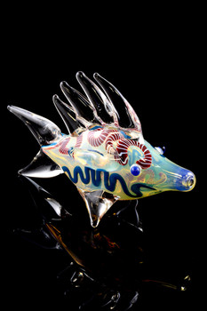 Color Changing Glass Fish Pipe - AP202