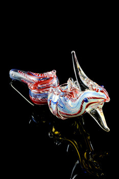 Color Changing Glass Chinese Dragon Pipe - AP203
