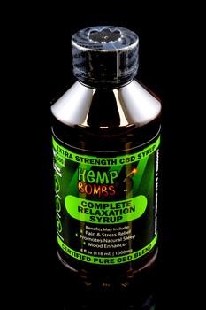 1000mg CBD Relaxation Syrup - CBD124