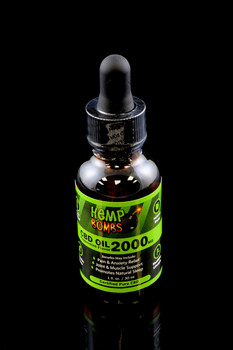 2000mg CBD Tincture Oil - CBD121