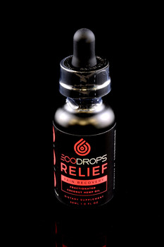 EcoDrops Relief 30ml - CBD134