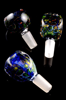 Fumed 14.5mm Glass on Glass Bowl - BS523