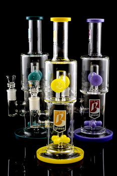Large Stemless GoG Water Pipe with Propeller to Drum Percs - WP1389