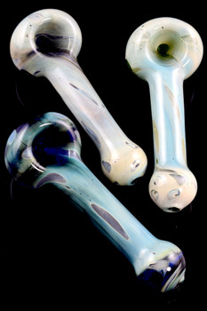Colored Fumed Glass Pipe - P1562