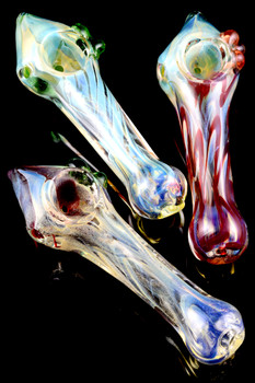 Color Changing Glass Pipe - P1583