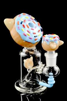 (US Made) Kitty Donut Mini Rig - WP1471