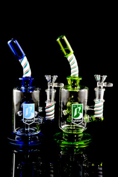 Medium Stemless GoG Water Pipe with Gas Mask Perc - WP1485