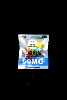 5ct 50mg On the Go CBD Relax Bears - CBD175